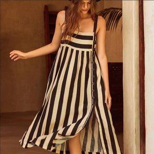 NWOT Urban Outfitters Deena Linen Midi Dress